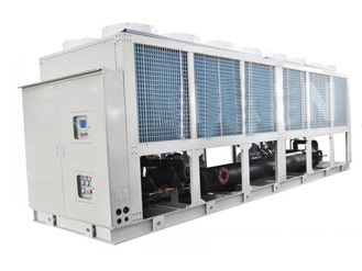 Air cooled screw chiller 370KW-with heat pump optional