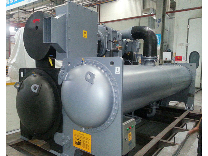 1500TR Centrifugal water Chiller R134a gas