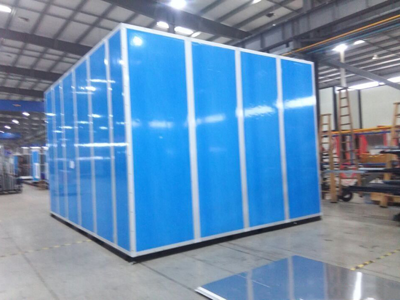 China good factory for Air Handling Units with ABB motor Yilida fan double layer panel EC motor is optional