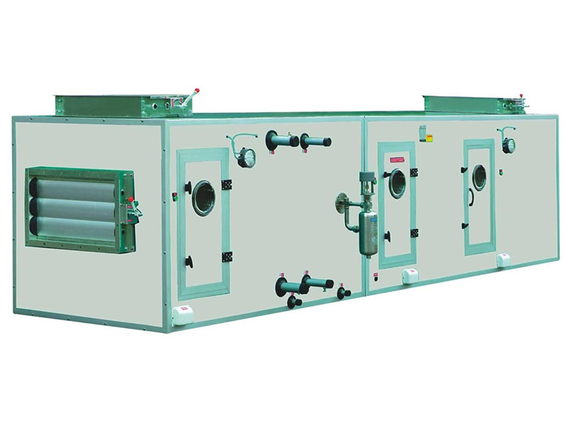 Air handling units with prefilter and Hepa filter